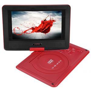 Image 2 - 9.8 Inch Draagbare High Definition Swivel Screen Auto Dvd speler Vcd Cd Avi Eu Plug