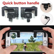 1 Pair Mobile Phone Gaming Trigger Button Handle Fire Button Controller Joystick Survival Game Grip R1L1 Triggers for PUBG