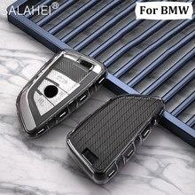 Coque de protection souple pour clé de voiture, étui en Tpu pour BMW X1 X3 X5 X6 X7 série 1/3/5/6/7 G30 G20 G32 G11 F20 Z4 F48 F39 G01 G02 F15 F16 G07