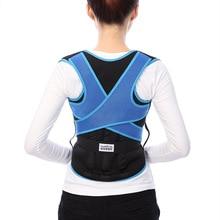 Adjustable Clavicle Posture Corrector Men Woemen Upper Back Brace Shoulder Lumbar Support Belt Corset Correction