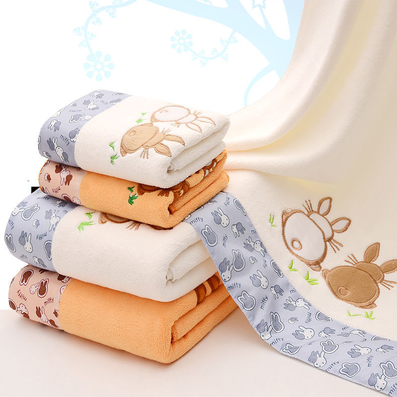 [Half-Price Rob] Towel Bath Towel Set Than Soft Absorbent Men And Women Adult Thick Cartoon-Korean-style