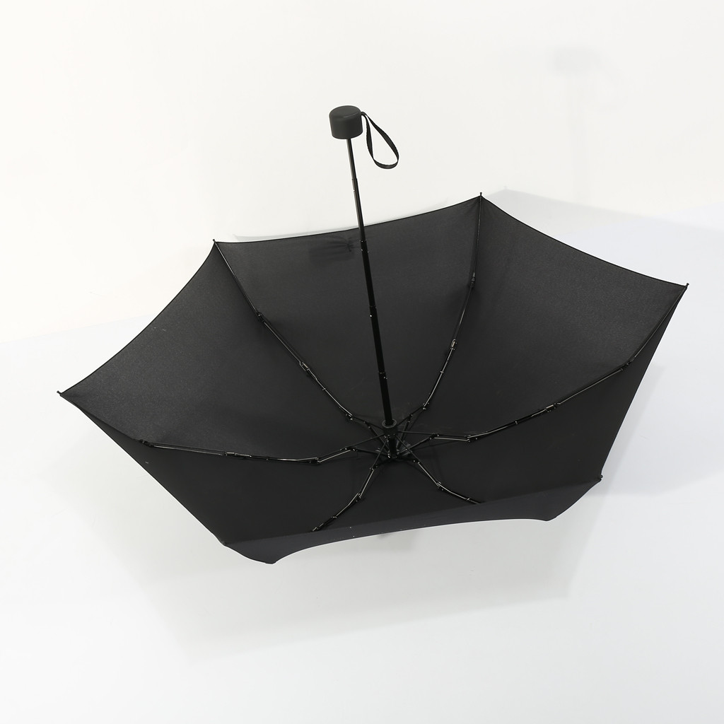 Mini 5Folding Compact Supers Windproof Anti-UV Rain Sun Travel Umbrella PortaFEH