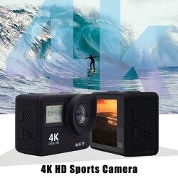 Kamera 4K WiFi Ultra HD kamera sportowa wodoodporna kamera nurkowa z pilotem AS99