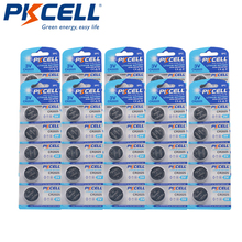 50 Pièces/10Pack PKCELL CR2025 3V Lithium Batterie DL2025 BR2025 ECR2025 CR 2025 Batterie