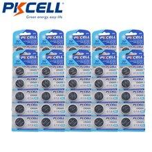 50Pcs/10Pack Pkcell CR2025 3V Lithium Batterij DL2025 BR2025 ECR2025 Cr 2025 Batterij