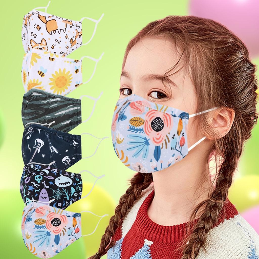 Детские уличные дышащие моющиеся многоразовые маски для лица, маски для детей|Маска для велоспорта| | АлиЭкспресс