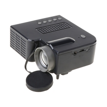 UC28C Mini Portable Video Projector 16:9 LCD Projector Media Player for Phones Dropship