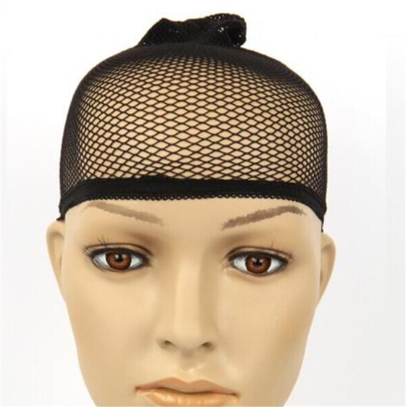 Hair Style Elastic Unisex Stocking Wig Liner Cap Snood Nylon Stretch Weaving Mesh Net Fishnet Ladies Elastic Wig Caps