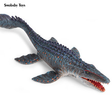 цена на Real Mosasaurus Animal Model Action Figure Dinosaur Ancient Creature Action Figures Collection PVC Children Cognitive Toy