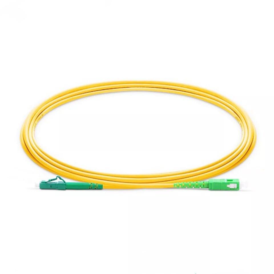 10PCS/bag LC/ APC-SC/ APC Simplex  Fiber Optic Patch Cord Cable 2.0mm Or 3.0mm