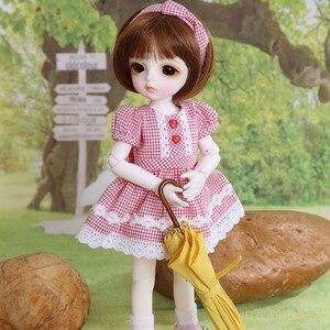 Image 2 - Новое поступление Анна BJD SD кукла 1/6 модель тела мальчики девочки Oueneifs высокое качество игрушки из полимера свободный глаз шары Модный магазин