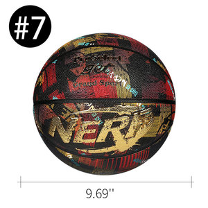 2021 New Brand High Quality PU Material For Men&Women To Play Outdoor Indoor Use Basketball Official Size 7