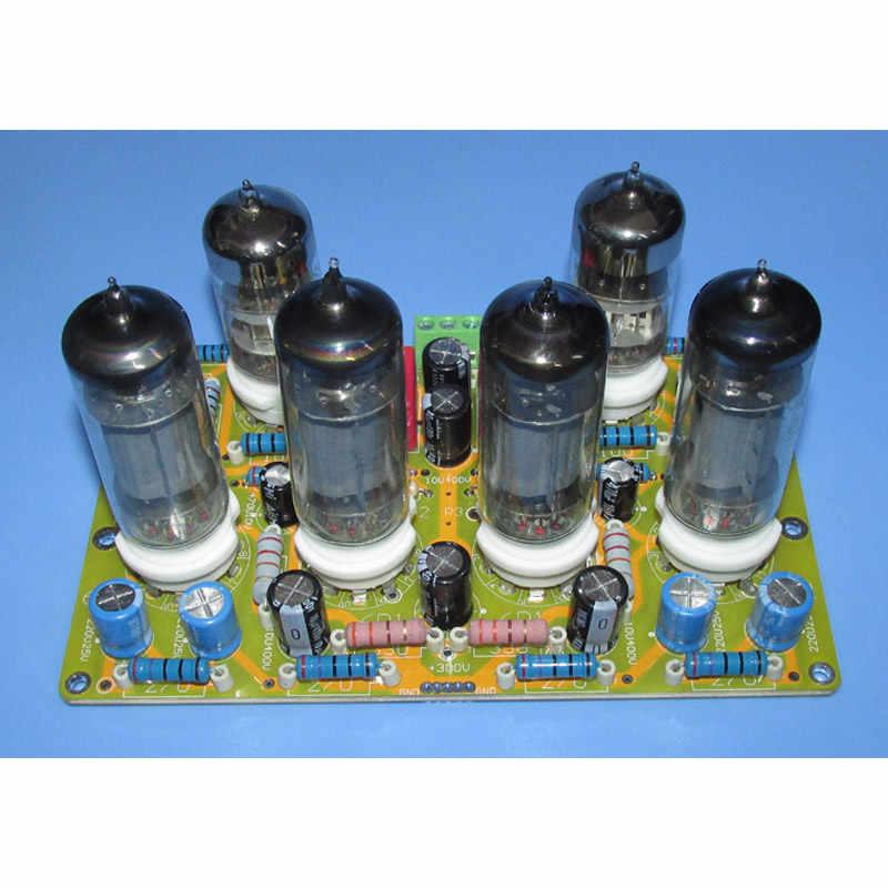 6N2 + 6P1 米国 Dynaco パワーアンププッシュプル回路ステレオボード LG279 、ウォームなサウンド、三バンドサウンドバランス