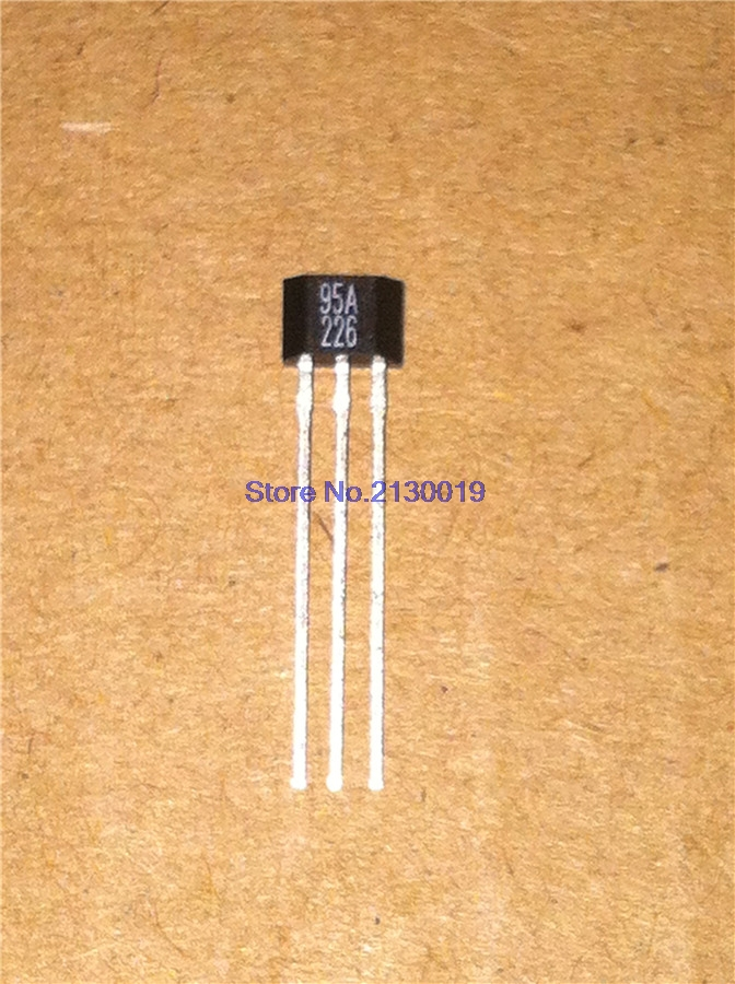 4pcs/lot SS495A1 TO-92L 95A TO-92 High-precision Hall SS495A Screen 95A New Original In Stock