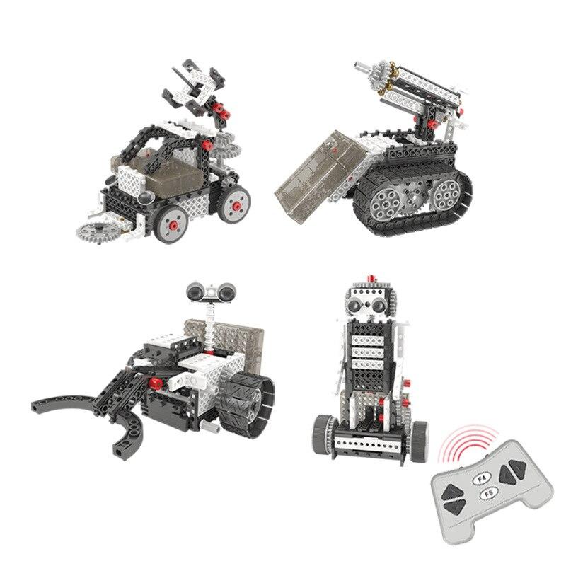 Купить вдохновение technic rc робот строительные блоки создатель город