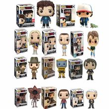 Funko Pop Asing Hal Eleven Demogorgon Hopper Jonathan Nancy Brenner Joyce Action Figure Collectible Model Mainan dengan Kotak(China)