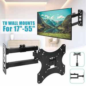 Bracket Telescopic-Rack Support Wall-Mount Flat-Screen Universal 17-55inch TV LED 180-Degree-Rotate
