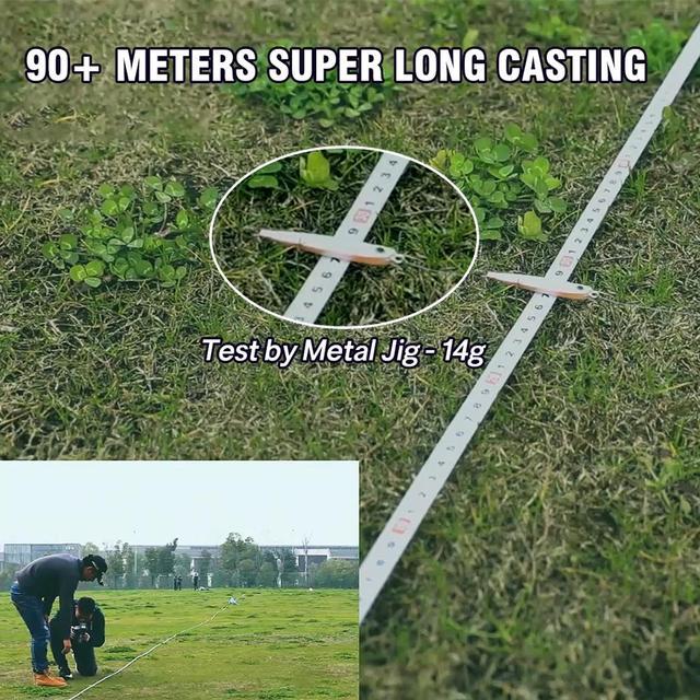 High Speed Baitcasting Reel
