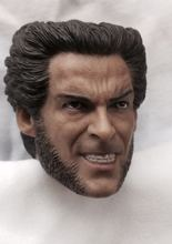Hot Selling 1/6 Scale Wolverine Head Carving Model Angry Ver. Fit 12 Male Figure