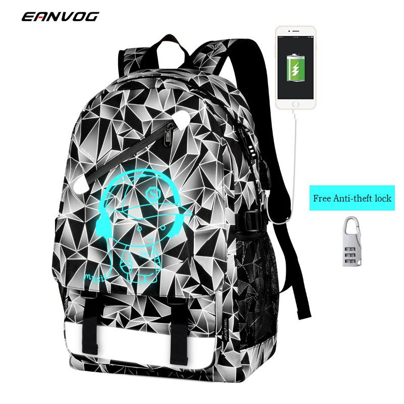 Fashion Men Chest Shoulder Cross-Body Oxford Bag Travel Sport Casual Backpack USB Backpack Travel Leisure Computer Student Bag