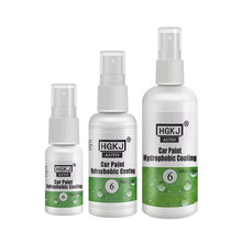 Hgkj 6 pintura do carro revestimento hidrofóbico anti risco à prova dhgágua à prova de chuva vidro líquido protectant 2020 novo