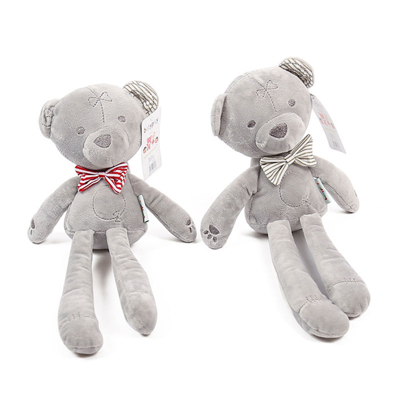Cute Bear Soft Plush Toy Baby Sleeping Doll Infant Baby Photography Accessories Studio Photo Props