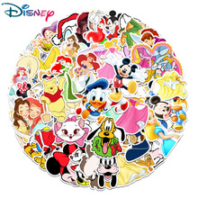 50Pcs Disney Cartoon anime Stickers Marvel Frozen Mickey Toy Story Winnie the Pooh Waterproof Skateboard Laptop Stikers Kids Toy