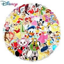 50 pièces Disney dessin animé anime autocollants Marvel congelé Mickey jouet histoire Winnie l'ourson imperméable planche à roulettes ordinateur portable Stikers enfants jouet