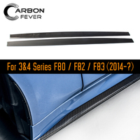For BMW 4 series F80 F82 F83 2014 IN Body Kit Side Skirt Carbon Materials Car Styling