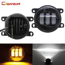 2 x LED Fog Light 30W 6000LM Car DRL Fog Lamp For Peugeot 2008 3008 4007 4008 5008 107 207 307 301 308 408 407 607 Bipper Tepee
