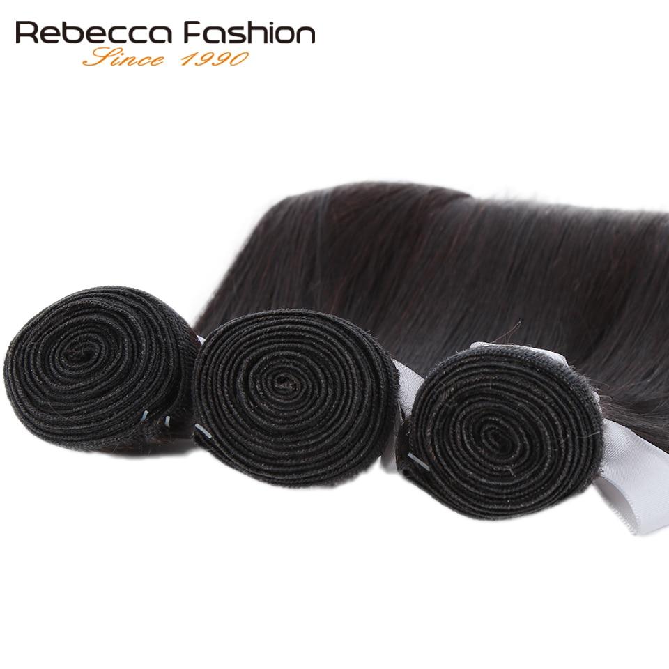 Rebecca Human Hair Bundles With Closure 3 Bundles With Closure Remy Hair Extension Peruvian Straight Hair Rebecca Human Hair Bundles With Closure 3 Bundles With Closure Remy Hair Extension Peruvian Straight Hair Bundles With Closure