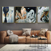 Cute Bird Women Home Decor Nordic Canvas Painting Wall Art Animal Figure Picture Art Posters and Prints for Living Room Decor predator movie figure artwork posters and prints wall art decorative picture canvas painting for living room home decor unframed