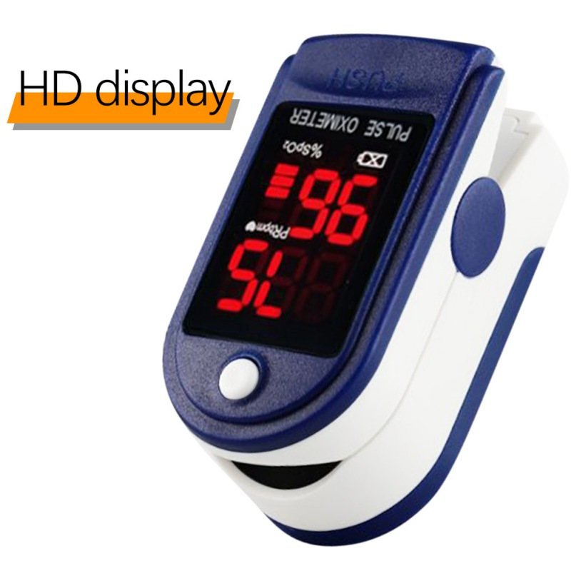 Portable Finger Oximeter Fingertip Pulsioximetro Heart Rate Saturometro Household Health Monitors Pulse Oximeter Oximetro
