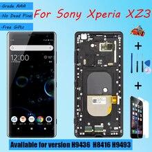 Voor Sony Xperia XZ3 Lcd scherm Vergadering Met Front Case Touch Glas, voor Sony Xperia XZ3 H9436 H8416 H9493 Lcd scherm Originele