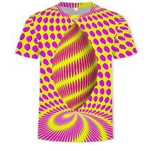 As letras de mangá corta para homem e mujeres, estampado digital a cuadros, cuello redondo a rayas, camiseta básica informal h