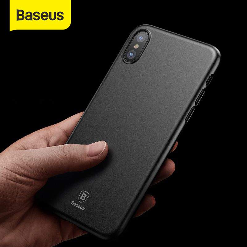 Baseus Super Super Thin Wing Case For iPhone Xs Xs Max XR 2018 2019Case Hard PP Back Phone Accessories For iPhone X Xs Max Cover