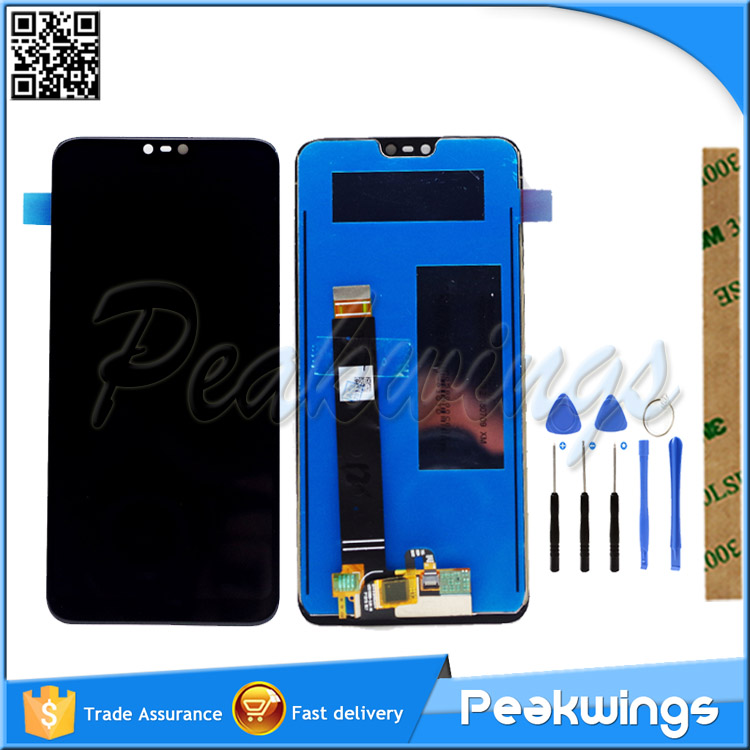 100% Tested LCD Display For <font><b>Nokia</b></font> X6 LCD <font><b>Nokia</b></font> <font><b>6.1</b></font> Plus TA-1103 TA-1116 LCD Display With <font><b>Touch</b></font> <font><b>Screen</b></font> Assembly image