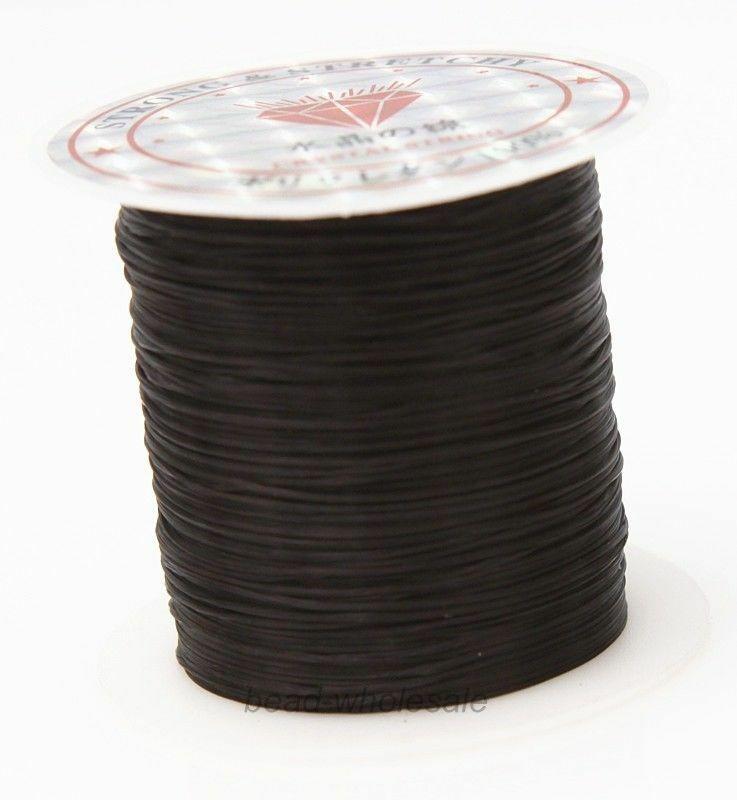 393 дюйма/рулон, крепкий эластичный шнур для бисероплетения с кристаллами, 1 мм, для браслетов, стрейчевая нить, ожерелье, сделай сам, для изготовления ювелирных изделий, шнуры, линия - Цвет: Color 20