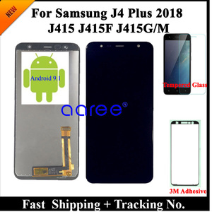 Image 2 - 100% Test LCD Display For Samsung J4 Plus LCD J4 Plus J415 LCD For Samsung J610 J6 Plus LCD Screen Touch Digitizer Assembly