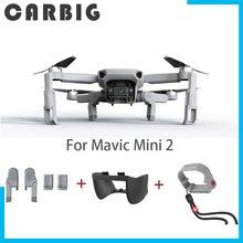 PGYTECH Für DJI Mavic Mini 2 Fahrwerk Verlängerung Propeller Motor Halter Fixateur Schutz Gimbal Objektiv Haube Für Mini