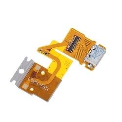 Usb porto de carregamento conector cabo flexível para sony xperia tablet z sgp311 sgp312 sgp321