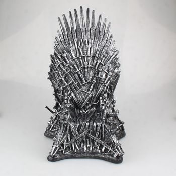 31cm The Iron Throne Statue Figure Big Size Collectible Model Movie & TV Game Thrones figures Toy Statue Doll toys spawn 21 generation the big size model doll tv