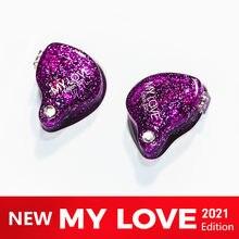 Écouteurs intra-auriculaires parfumés, moniteur hi-fi, avec Double cercle mobile en graphène, TFZ My Love Edition, avec câble détachable