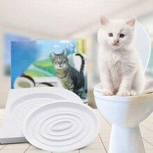 Кошачий лоток набор для обучения домашних животных Китти горшок система поезда шаг за шагом обучение туалетный лоток обучение Туалет товары для домашних животных тренажер