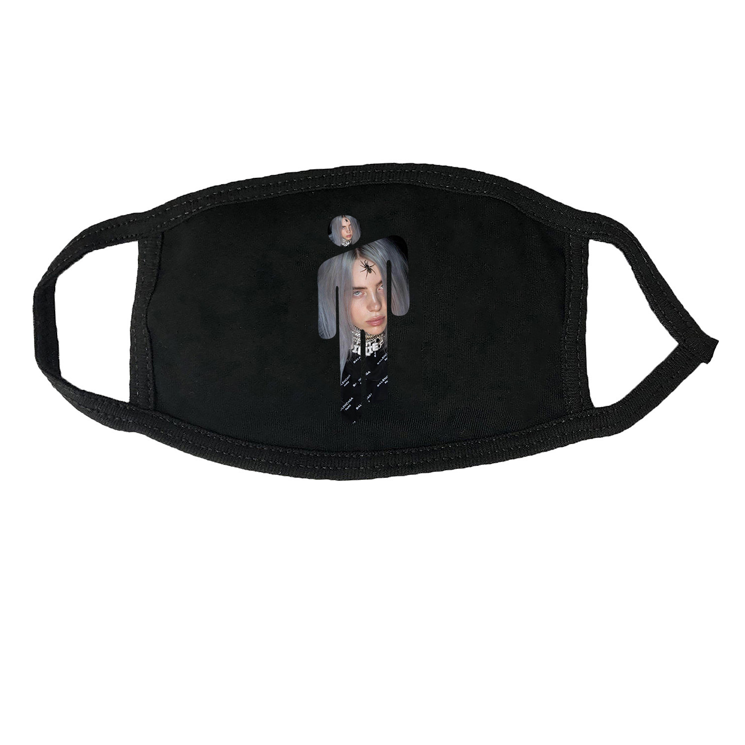 Billie Eilish Mask Fans Group Hit Call Mask Concerts The Edition Cover New Album Activity Mask