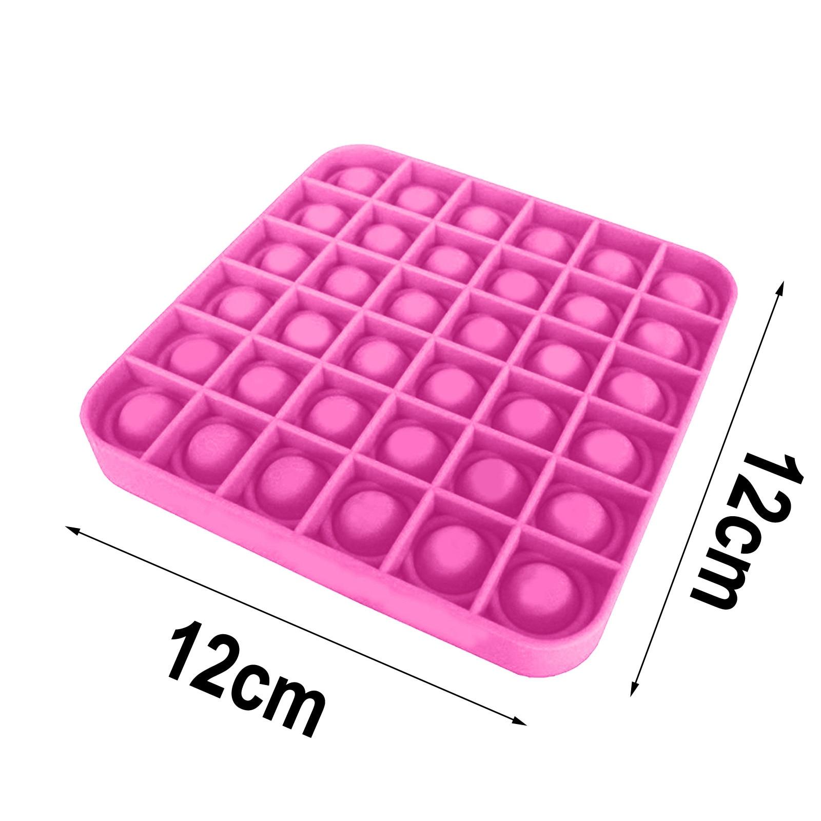 Popit Fidget Toy Antistress-Toys Autism Push Bubble Special Reliever Jouet Pour img5
