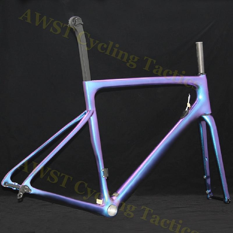 SL6 New Design Aero Carbon Fiber Bike Frame Bicycle Disc Brake Carbon Road Bike Carbon Road Bike Frame V Brake