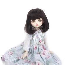 High Quality Synthetic Long Straight Doll Wigs for 1/6 BJD/SD