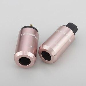 Image 2 - Audiocrast paire P106G plaqué or connecteur dalimentation américain + connecteur IEC prise dalimentation câble dalimentation ca US prise bricolage