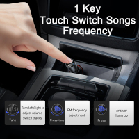 Baseus Car Charger FM Transmitter Modulator Bluetooth Wireless Audio MP3 Player Dual USB Mobile Phone Charger for iPhone Samsung